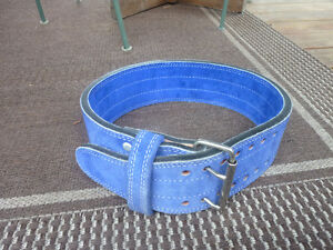 4'' Suede Power lifting Belt