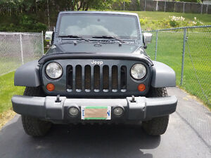 2007 Jeep Wrangler X  2 Dr  manual in great condition