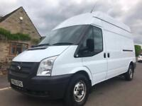 2012 62 FORD TRANSIT 2.2 TDCI 350 MWB HIGH ROOF WHITE