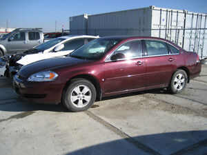 2007 CHEVROLET IMPALA - 90,000 KMS - FOR PARTS - REDUCED  - $600