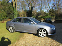 2006 06 Audi A4 2.0 TDI S Line AUTOMATIC DIESEL FULL HEATED LEATHER FSH 84K BOSE