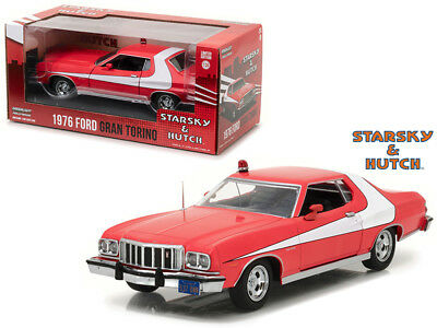 Starsky and Hutch TV 1976 Ford Gran Torino Die-cast Car 1:24 Greenlight 8 inch