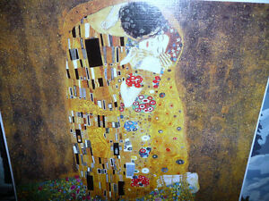 "Gustav Klimt ""The Kiss"" Art Print Stratford Kitchener Area image 2"