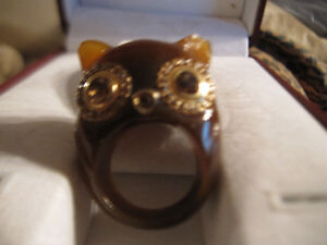 Marc By Marc Jacobs Owl Ring Rare New
