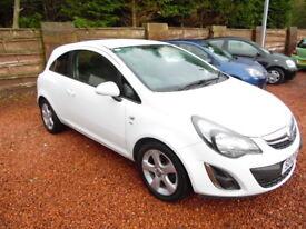 Vauxhall Corsa 1.2I VVT SXI (white) 2012