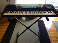 Yamaha PSR-170 piano keyboard with stand. Great condition.