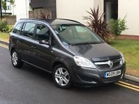 VAUXHALL ZAFIRA 1.9 CDTI EXCLUSIVE AUTOMATIC**7 SEATS**