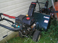Two snowblowers 400 OBO