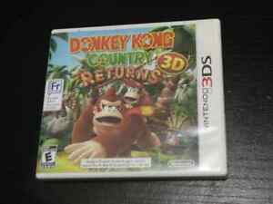 Donkey Kong Country Returns for 3DS CIB