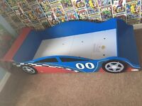 Toddlers Race Car Bed