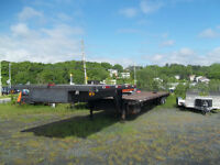 53 ft  Drop Deck Trailer - 5th Wheel -  Tandem - REDUCED PRICE