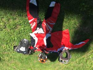 Équipement de motocross pour jeunes
