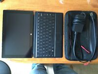 Original Surface Pro 64 GB w/ Keyboard and case