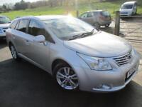2010 TOYOTA AVENSIS T4 D-4D ESTATE WITH LEATHER ESTATE DIESEL