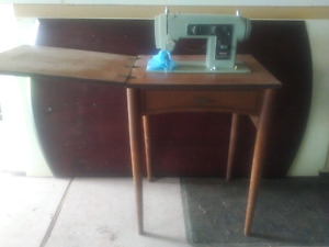 old sears sewing machine table