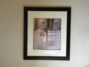 Large Framed Wall Art/Picture