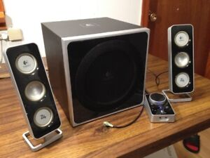 Logitech Z-4 2.1 80 watt Multi Media System