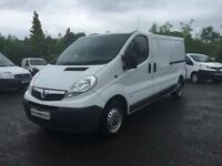 2013 13 VAUXHALL VIVARO 2.0 2900 CDTI 1D 113 BHP LWB LONG WHEEL BASE VAN