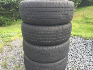 Four 205/60R15 Summer Tires