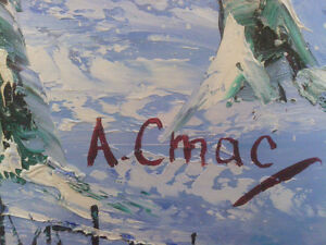 Oil on Canvas A Cmac North Shore Greater Vancouver Area image 3