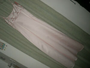 LE CHATEAU Light Pink Formal Dress, Size 10 London Ontario image 1