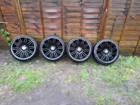 BMW spiders alloy wheels