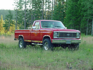 looking for a 1980 and up Ford F-250 4x4