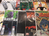 Black panther comic books marvel including hip hop variant #1