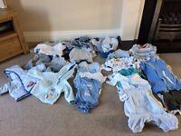 Bundle of boys clothes (0-3 months)