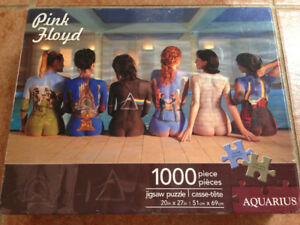 Pink Floyd Back Catalogue 1000 Piece Jigsaw Puzzle