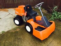 Husqvarna rider 850 ride on lawn mower sit on garden tractor