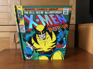 Marvel X-Men Pop-Up Book - All Pop-ups perfect - as new