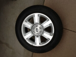 Ford 6 bolt rims and tires for sale