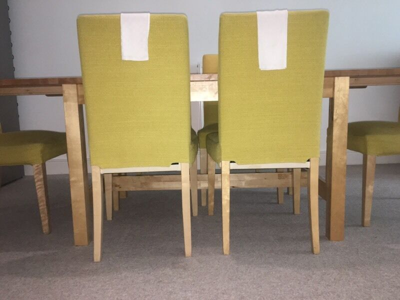 Ikea Tuning wooden tuning table and chairs from ikea in isle of dogs