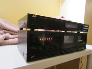 JVC TD-W103 Doubble Cassette deck/free AM/FM tuner included