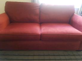 SCS 3 Seater sofa & Armchair