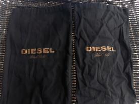 2x Diesel dust bags £ 1