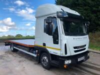 2015 65 Iveco Eurocargo 100e21 Euro 6 sleeper cab 21ft6 recovery body winch