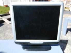 "Hanns G HU196D 19"" LCD Monitor Screen."