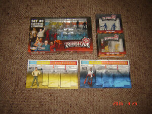 Zombicide game pieces, figures, stat cards. London Ontario image 3