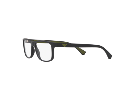 Gestell Optische Brille Emporio Armani Authentic EA3147 Schwarz 5042