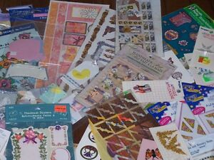 Large Scrapbooking/Hobby/Craft Lot! 75 NEW Packages