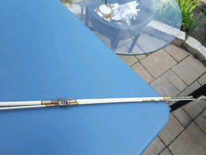Old fishing fly rod