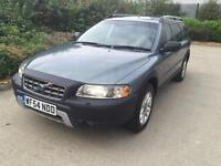 2004 VOLVO XC70 D5 SE LUX AWD S-A HISTORY MOT LEATHER IMMACULATE