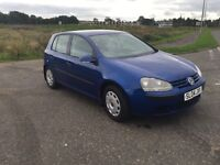 VOLKSWAGEN GOLF 1.4 FSI S•ONLY 64000 MILES!•(like Astra focus polo Clio Passat a3)