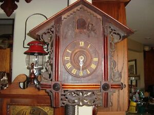 GERMAN GORDIAN HETTICH SOHN CUCKOO CLOCK