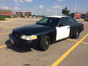 2011 Crown Victoria, Police Interceptor, Certified