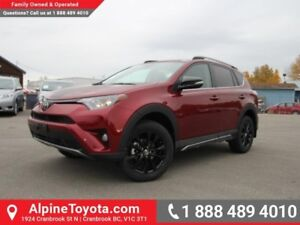 2018 Toyota RAV4 XLE Trail Package  Geolander A/T Tires
