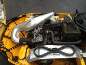 Ski-Doo S-Chassis Replacement Pipe