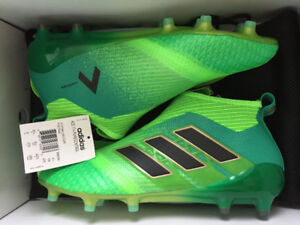 Soccer Cleats Adidas Ace 17+ Purecontrol Turbocharge Size 9